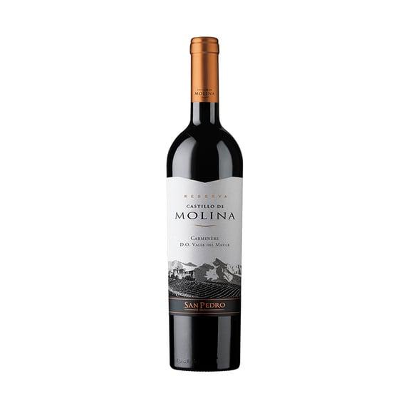 Vino Castillo de Molina Reserva Carmenere Botella 750cc