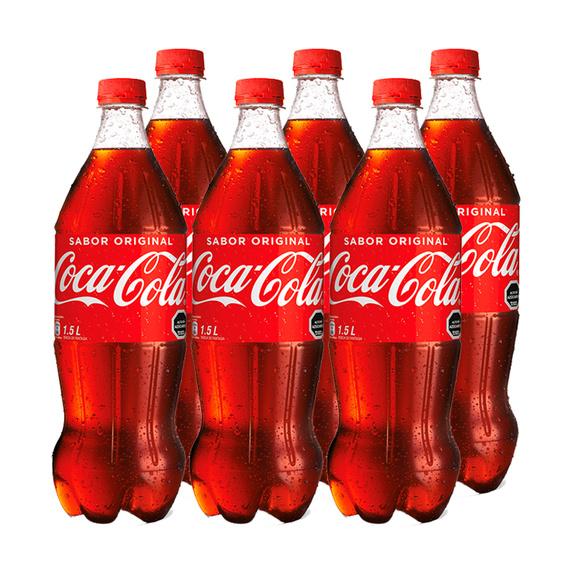 Coca Cola Botella 1,5Lts x6