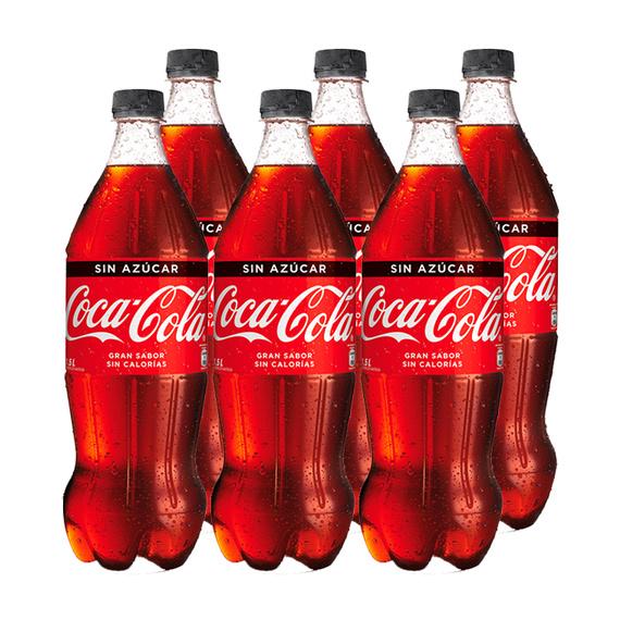 Coca Cola Zero Botella 1,5Lts x6