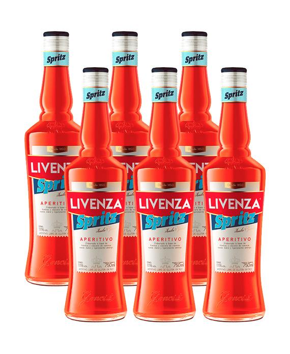 Livenza Spritz Botella 750cc x6