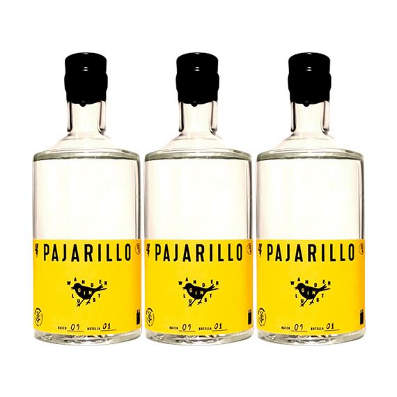 Gin Pajarillo Botella 700cc x3