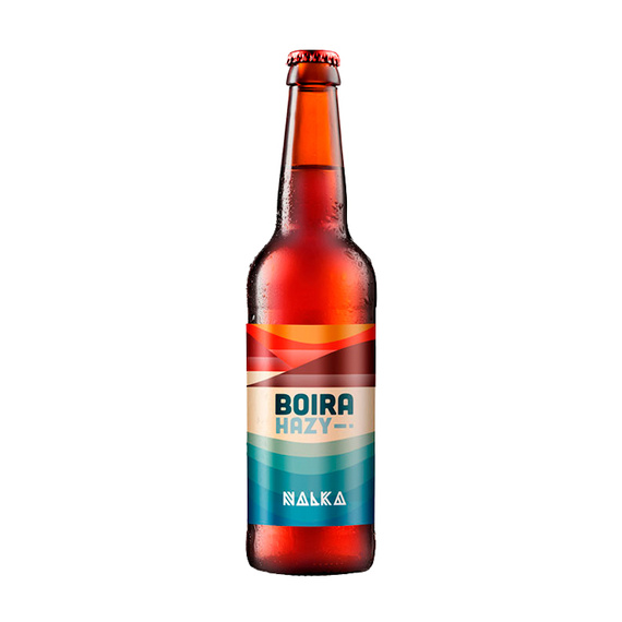 Cerveza Nalka Hazy IPA Boira Botella 330cc