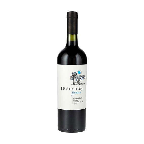 Vino J. Bouchon Reserva Carmenere / Syrah Botella 750cc