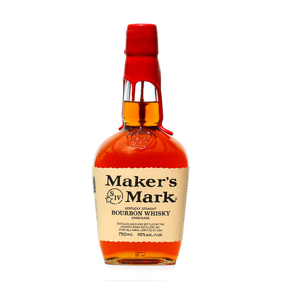 Bourbon Whiskey Makers Mark 45° Botella 750cc