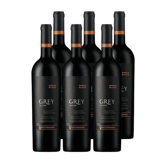 Vino Ventisquero Grey Cabernet Sauvignon Botella 750cc x6