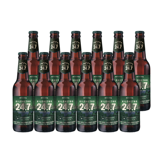 Cerveza KM 24.7 Session IPA Botella 355cc x12