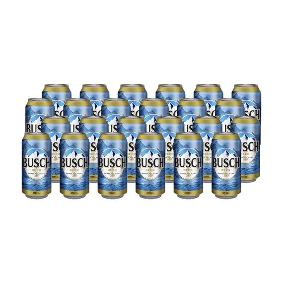 Cerveza Busch Lata 473cc x24