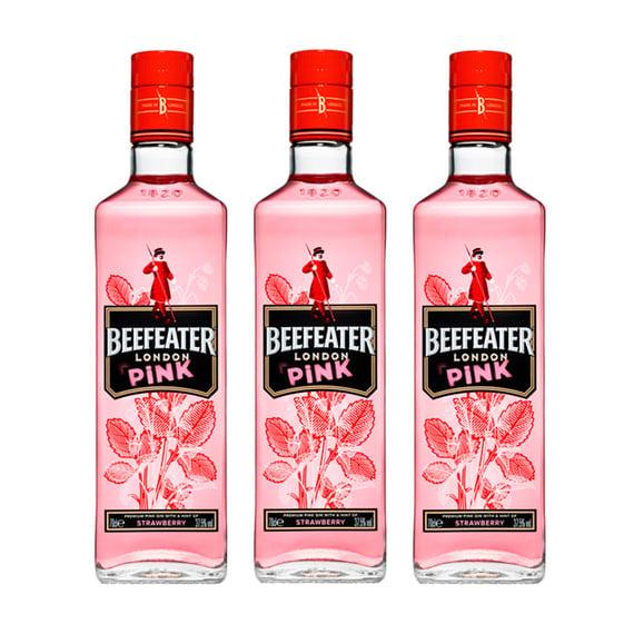 Gin Beefeater Pink Botella 750cc x3
