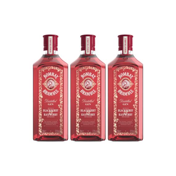 Gin Bombay Bramble Botella 700cc x3