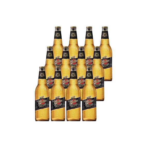 Cerveza Miller Botella 650cc x12