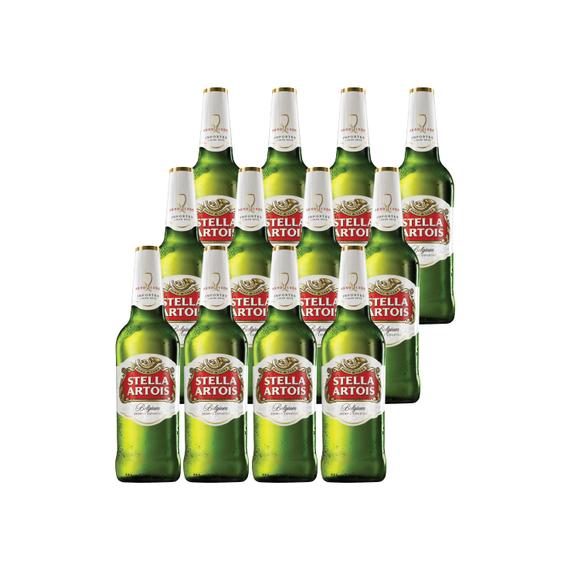 Cerveza Stella Artois Botella 660cc x12