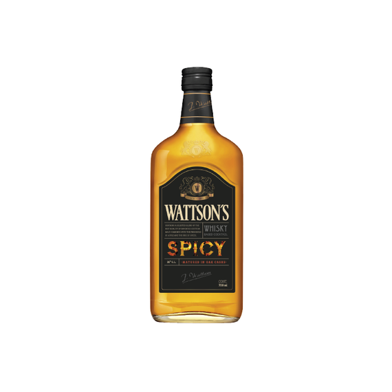 Whisky Wattson´s Spicy Botella 700cc