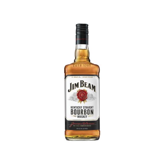 Bourbon Whiskey Jim Beam White Botella 750cc