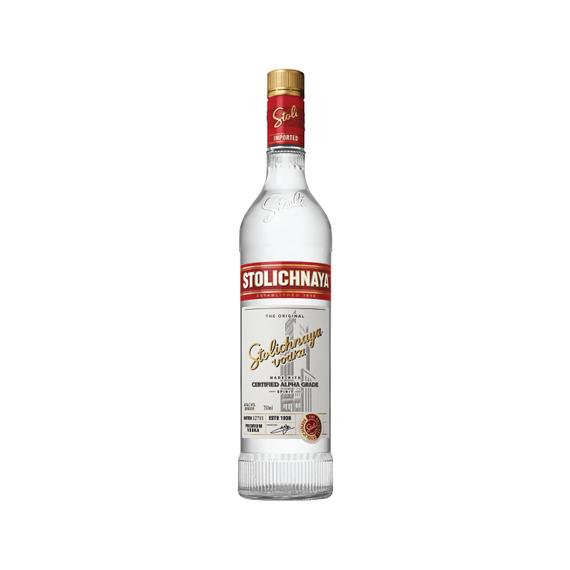 Vodka Stolichnaya Botella 750cc