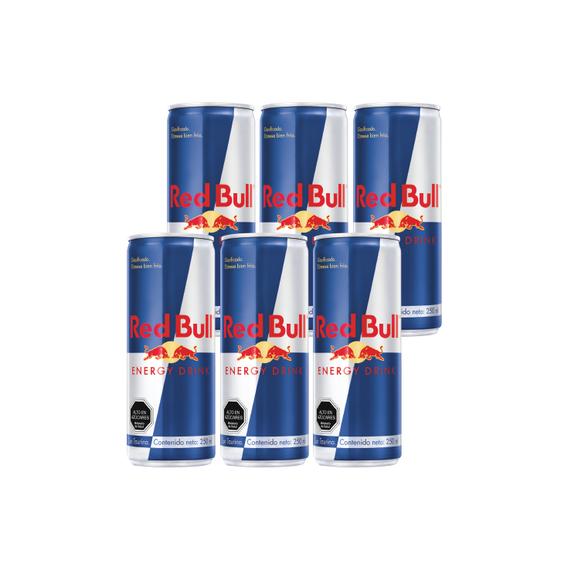 Red Bull Lata 250cc x6