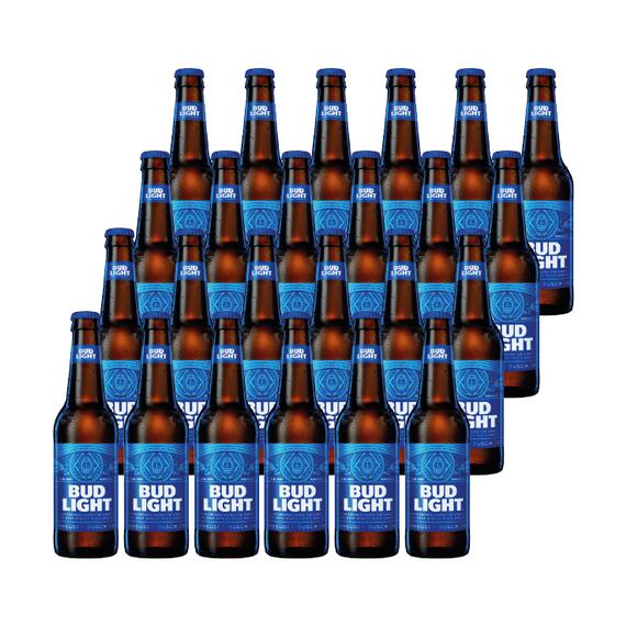 Cerveza Bud Light Botella 355cc x24