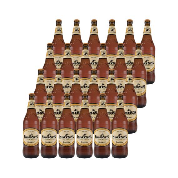 Cerveza Kross Golden Ale Botella 330cc x24