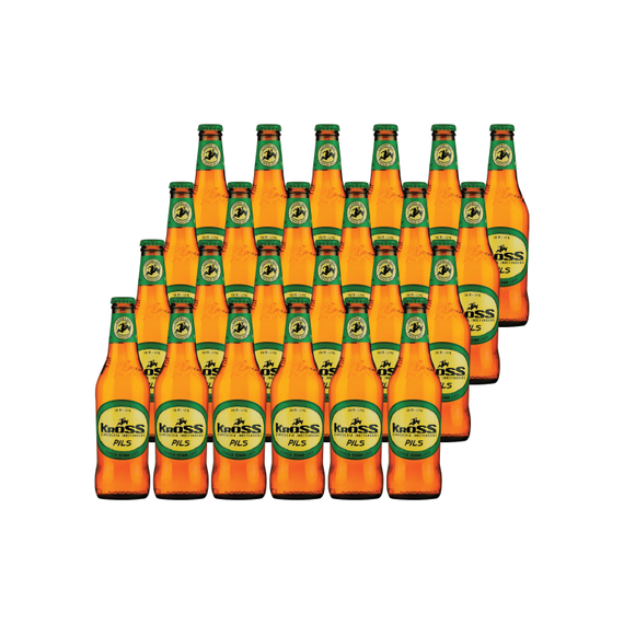 Cerveza Kross Pilsner Botella 330cc x24
