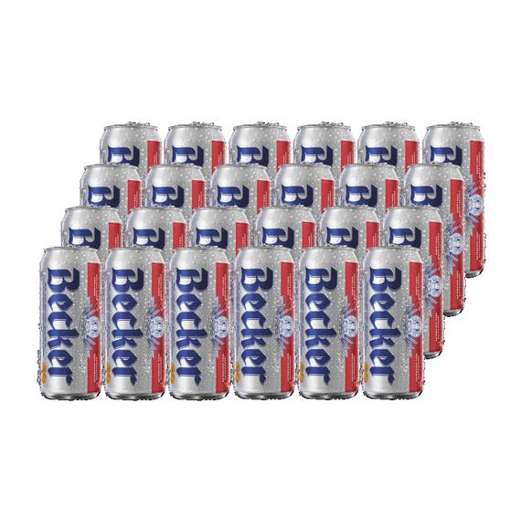 Cerveza Becker Lager Lata 473cc x24