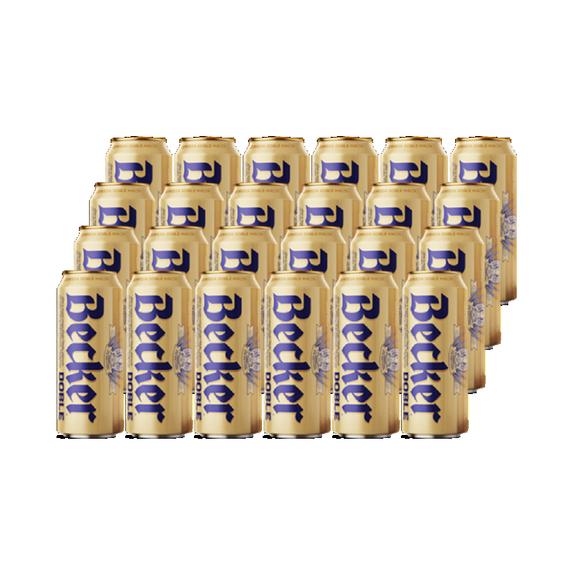 Cerveza Becker Doble Malta Lata 473cc x24