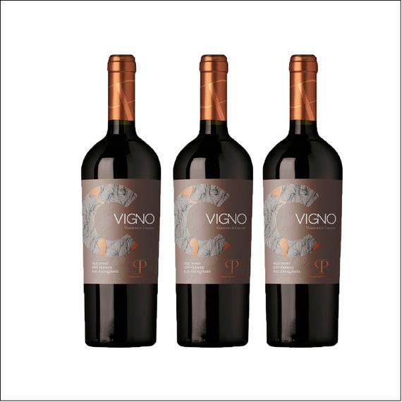 Vino Casa Patronales Carignan Vigno Botella 750cc x3
