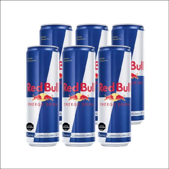 Red Bull Lata 473cc x6