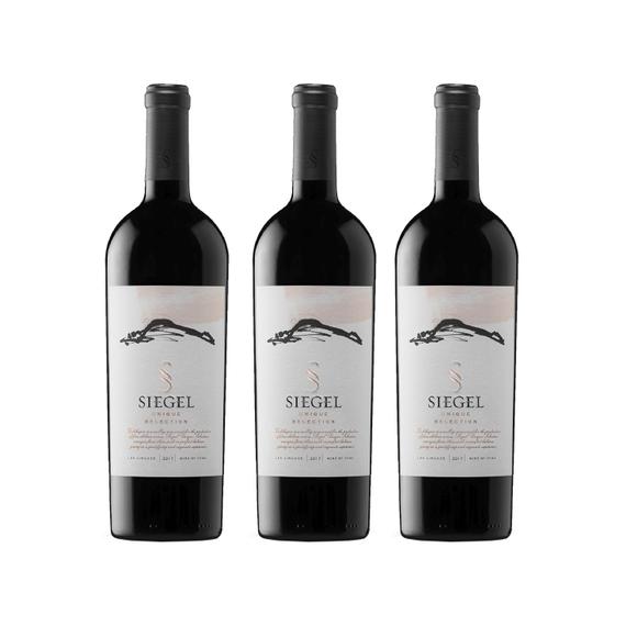 Vino Siegel Unique Selection Botella 750cc x3