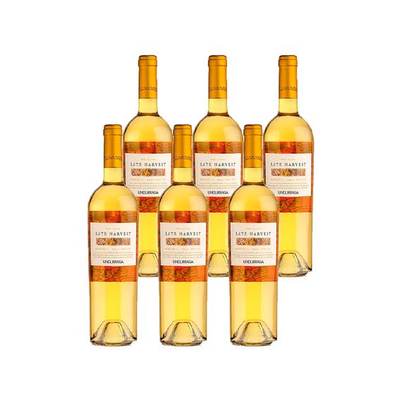 Vino Undurraga Late Harvest Botella 750cc x6