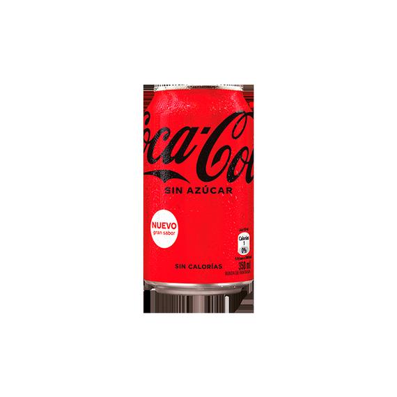 Coca Cola Zero Lata 350cc
