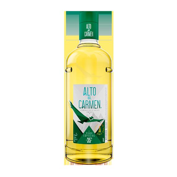 Pisco Alto Del Carmen 35º Botella 1Lt