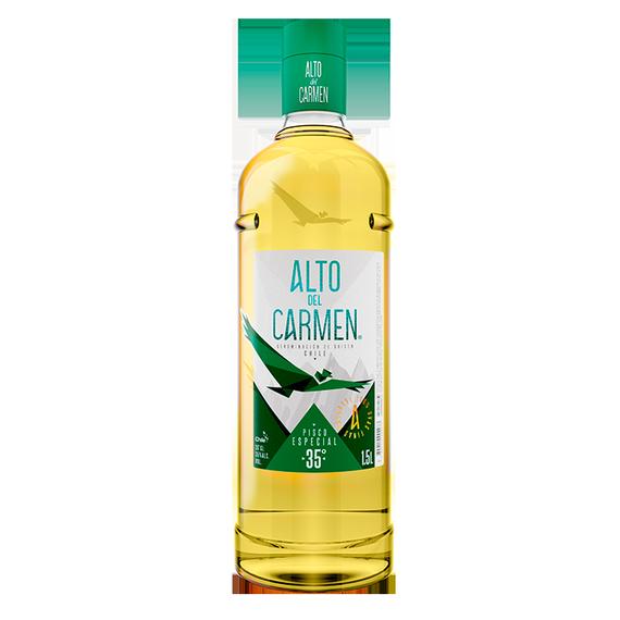 Pisco Alto del Carmen 35° Botella 1.5 Lts