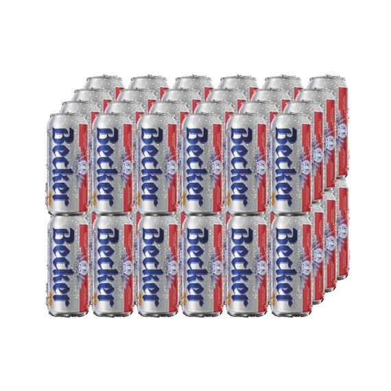Cerveza Becker Lager Lata 473cc x48