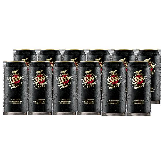 Cerveza Miller Lata 473cc x12