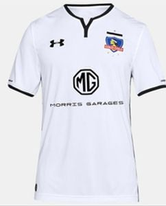 CAMISETA COLO COLO 2018 LOCAL JUVENIL CON MG