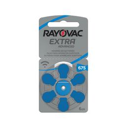 Pilas Auditivas 675 Rayovac Extra