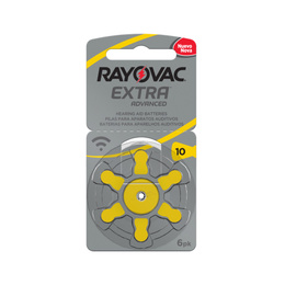 Pilas Auditivas 10 Rayovac Extra