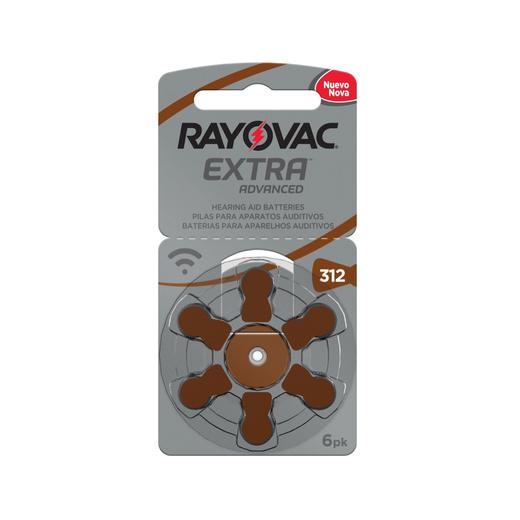 Pilas Auditivas 312 Rayovac Extra