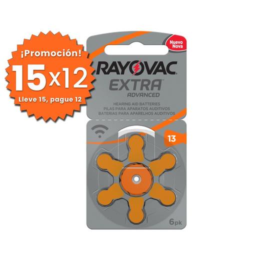 Pilas Auditivas 13 Rayovac Extra
