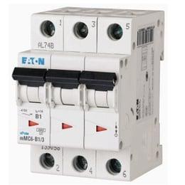 Interruptor Termomagnético 10A, 3 Polos, 6KA, Curva C