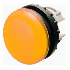 Lámpara piloto rasante, casquete amarillo