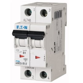 Interruptor Termomagnético 63A, 2 Polos, 6KA, Curva C