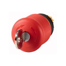 Botón parada emergencia con llave, presionar - girar llave