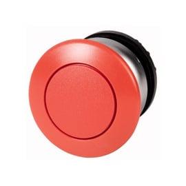 Botón pulsador tipo hongo, con retorno, rojo