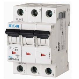 Interruptor Termomagnético 1A, 3 Polos, 6KA, Curva C