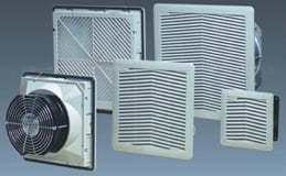 Ventilador flujo 55/66m3/h 230vac 150x150mm