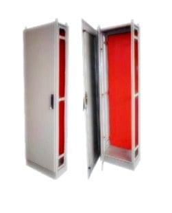 Gabinete metálico ral 7035 - 2100x800x400mm ip-55