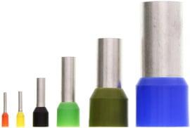 Puntillas para cables 16mm verde h 16/22