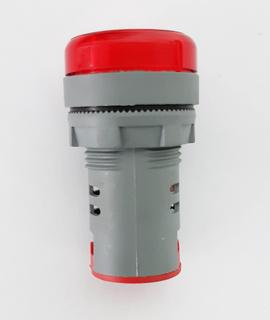 Pulsador rojo, 1nc 22mm