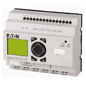 Easy700, Alimentación 24Vdc, 12DI (4 pueden ser análogas),  8DO Transistor, pantalla y teclado, reloj tiempo real - Easy700, Alimentación 24Vdc, 12DI (4 pueden ser análogas),  8DO Transistor, pantalla y teclado, reloj tiempo real