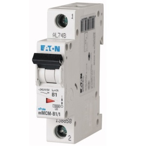 Interruptor Termomagnético 16A, 1 Polo, 6/10KA, Curva C - Interruptor Termomagnético 16A, 1 Polo, 6KA, Curva C